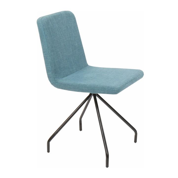 Jedálenská stolička, mentolová/čierna, TALIP