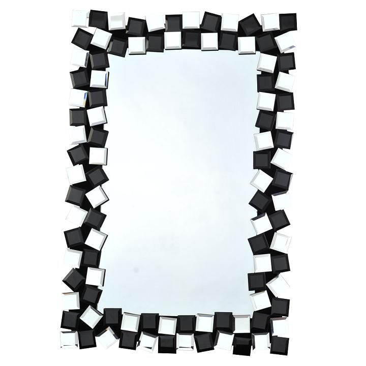 ELISON TYP 8  tükör, fekete / fehér