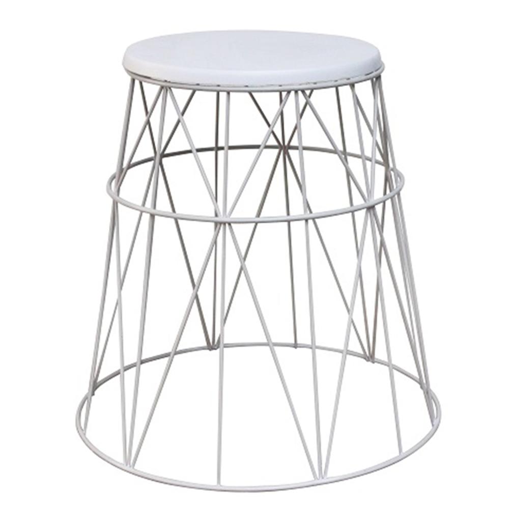 Příruční stolek, bílá, LAVON, TEMPO KONDELA