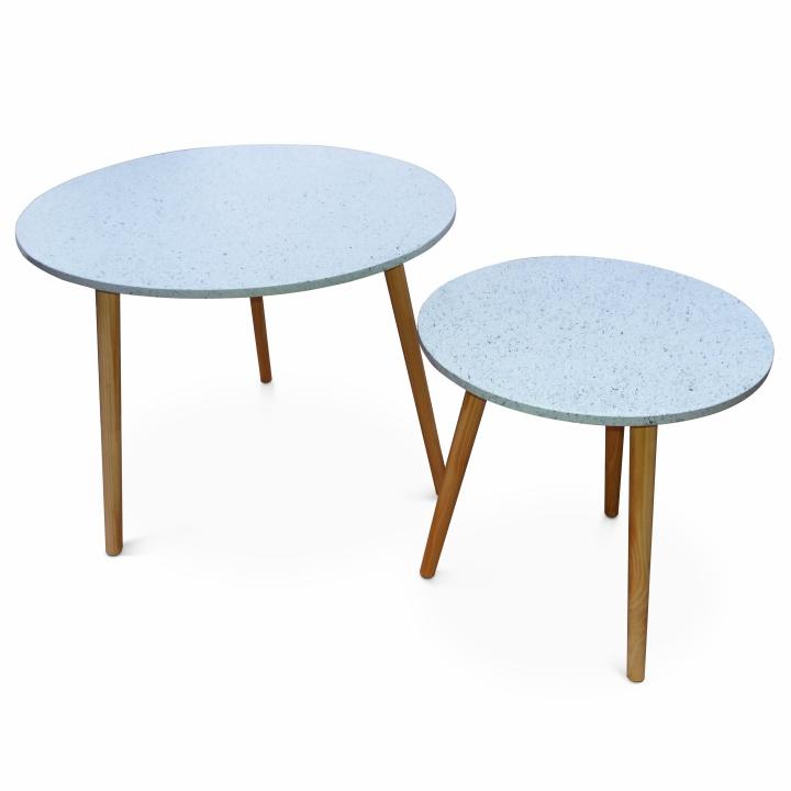 LIRAN 2V1Szett   két darab kiegeszitő asztalka
