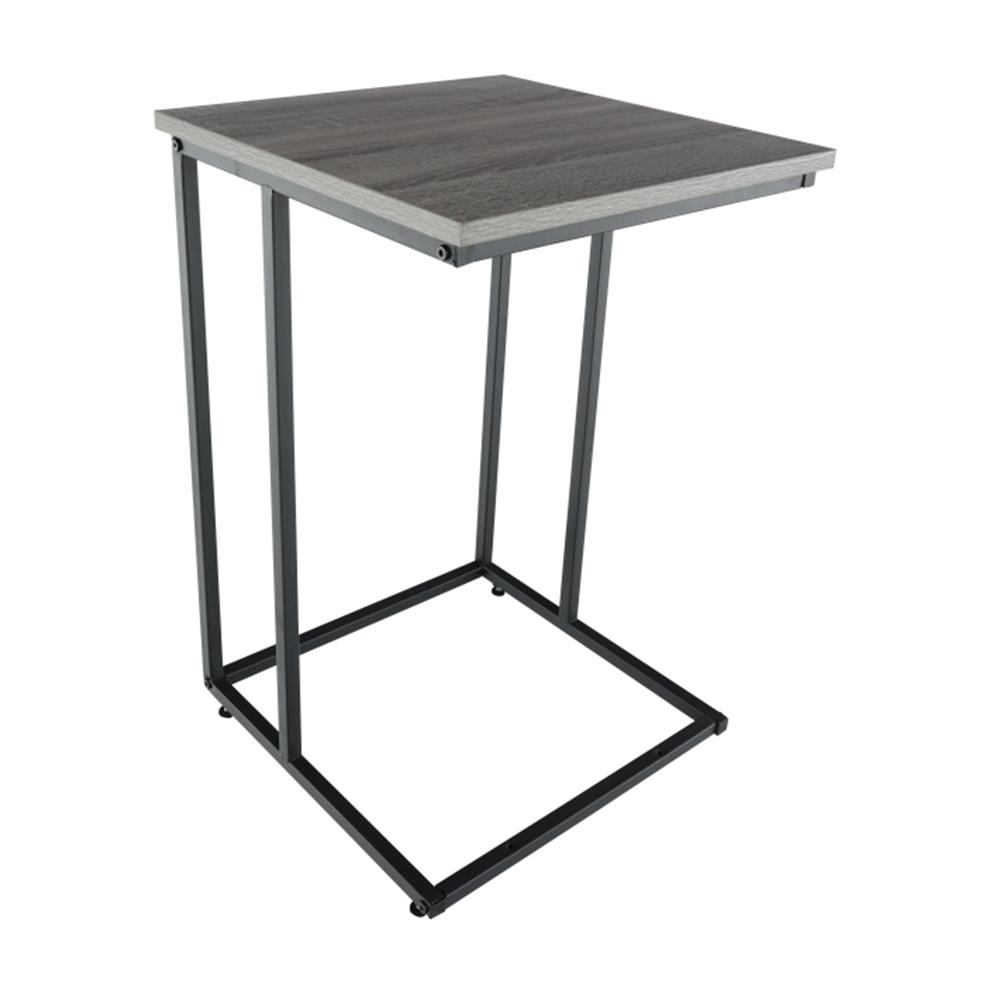 Příruční stolek, dub / černá, KALA, TEMPO KONDELA