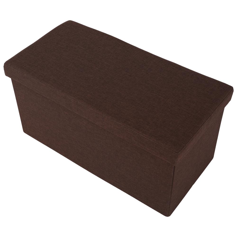 ORELIA összecsukható puff, barna