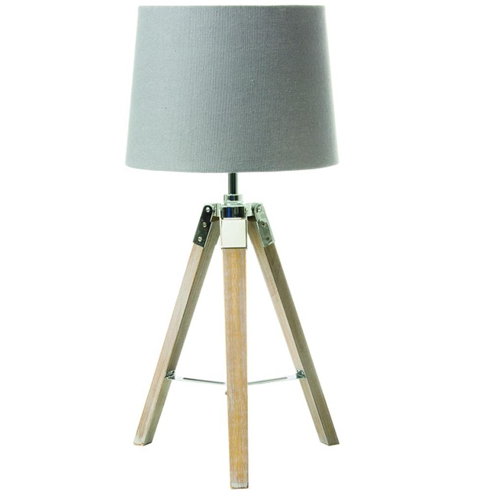 Stolná lampa, sivá, JADE TYP 2 8008-17B