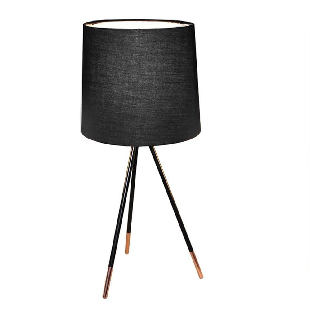 Asztali lámpa, fekete, JADE TYP 4 8008-44A