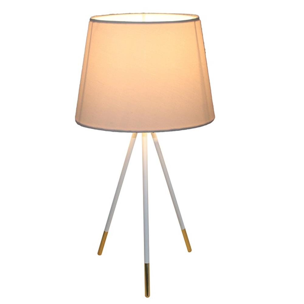 Asztali lámpa, fehér, JADE TYP 5 8008-44B