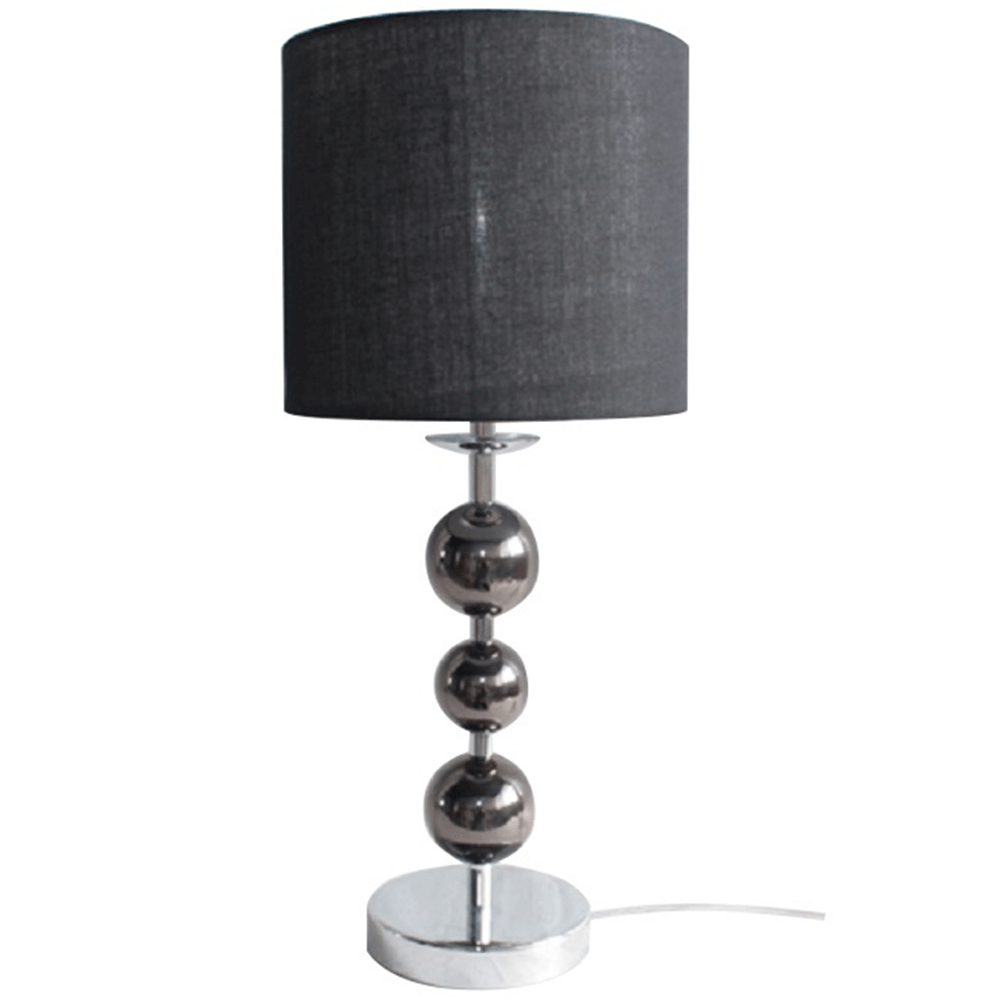 Stolní lampa, černá, JADE TYP 8