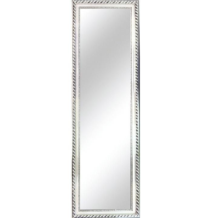 Tükör ezüst színű fakerettel, MALKIA TYP 5