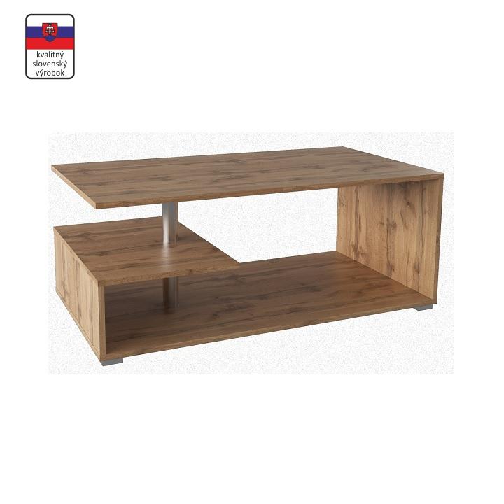 Dohányzóasztal, wotan tölgyfa színű, DORISA