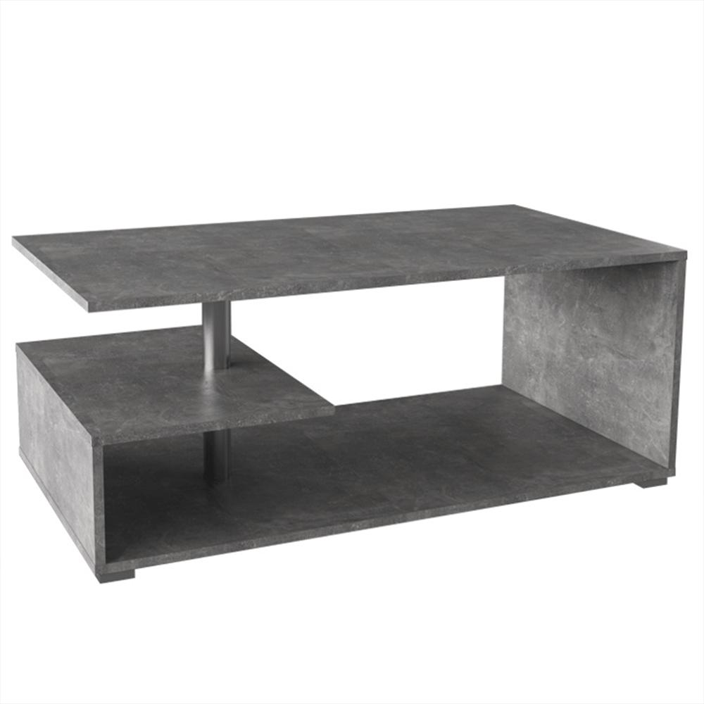 Dohányzóasztal, beton, DORISA