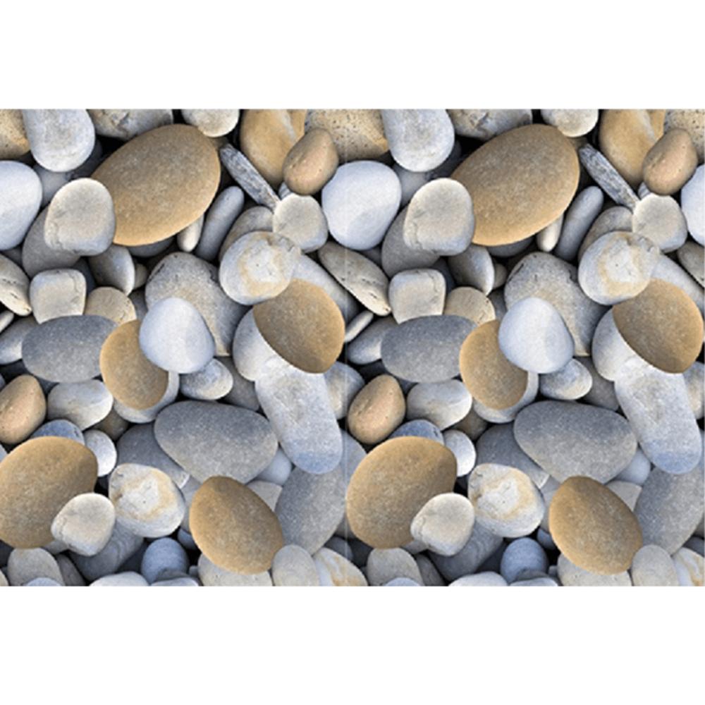 Koberec, vzor kameny, 80x200, BESS, TEMPO KONDELA