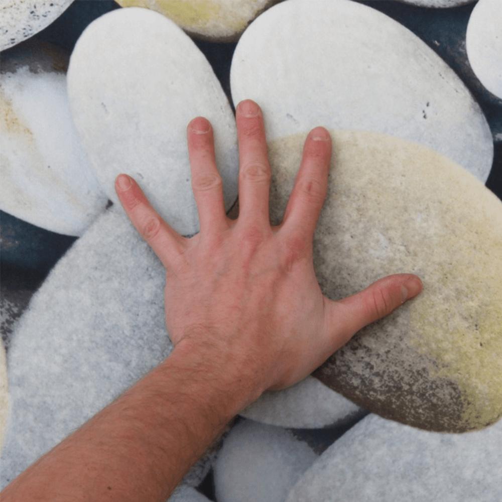 BESS szőnyeg 120x180, szín:  többszinű  /  kőmintás