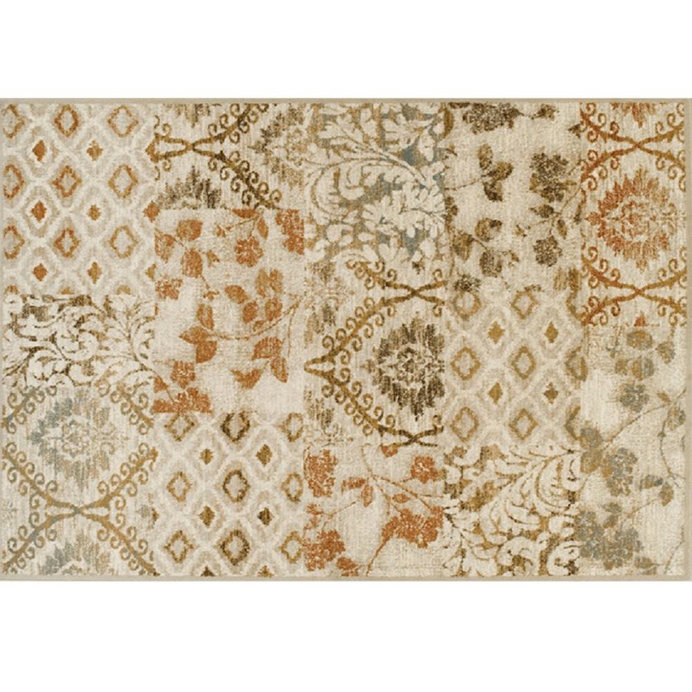 Koberec, vícebarevný, 67x120, TAMARAI