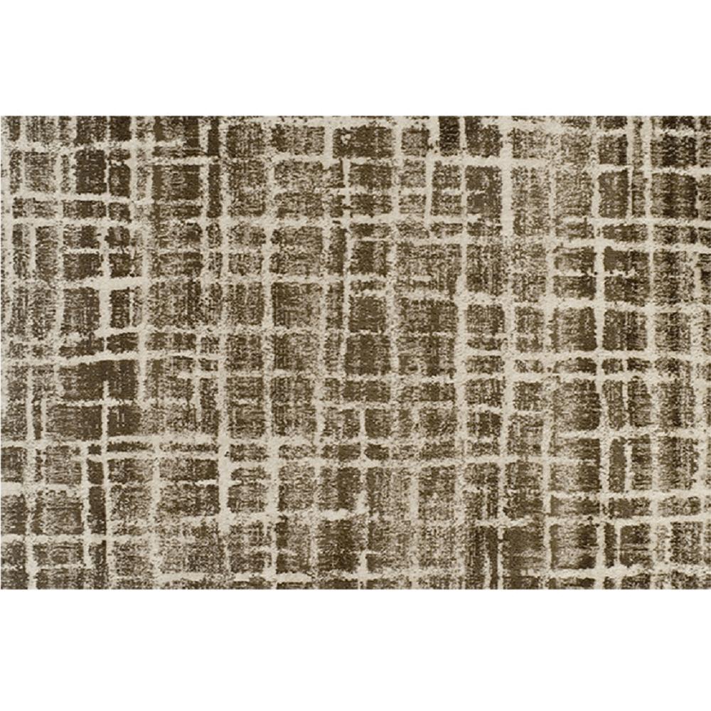 Koberec, béžová/hnědá, 57x90, Stellan