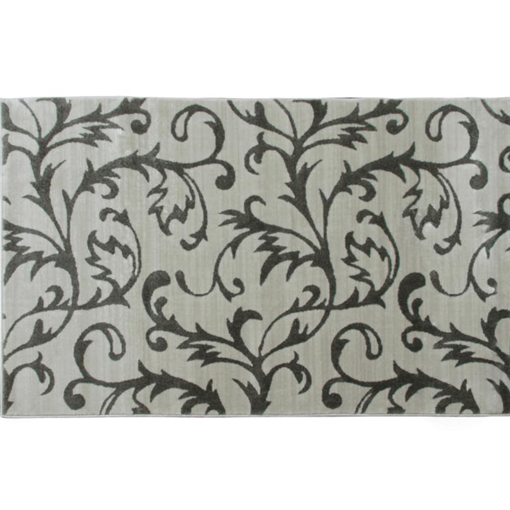 Koberec, krémová / šedý vzor, 100x150, GABBY, TEMPO KONDELA