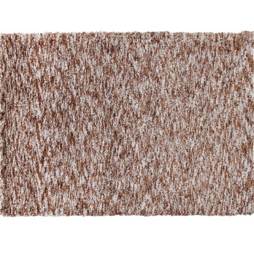 Szőnyeg, világosbarna melír, 200x300, TOBY