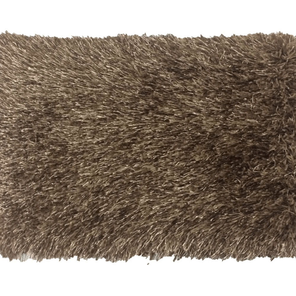 Koberec, hnědá, 140x200, GARSON
