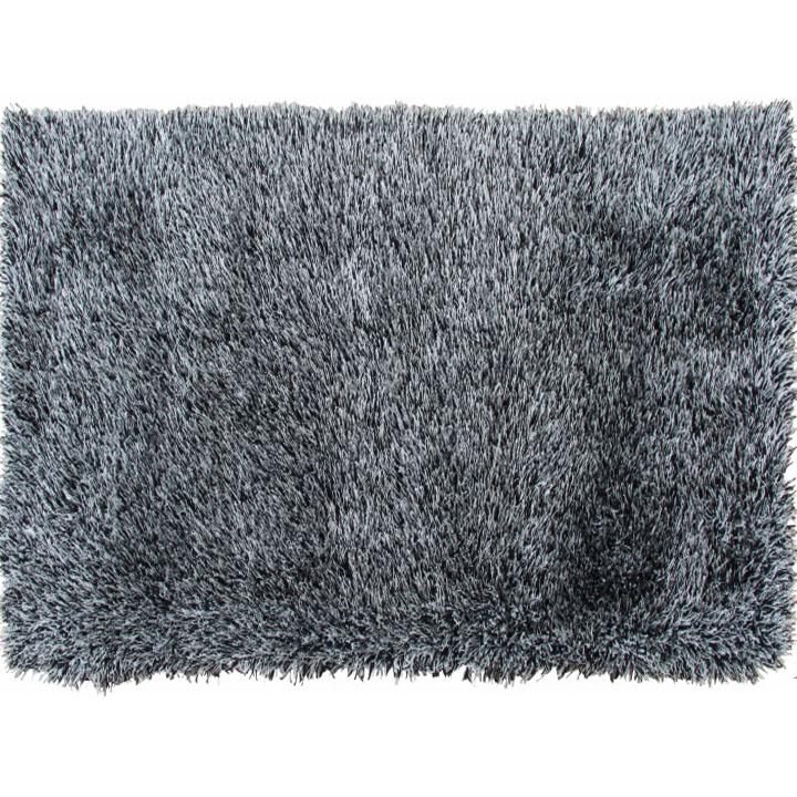 Koberec, krémovo-čierna, 80x150, VILAN
