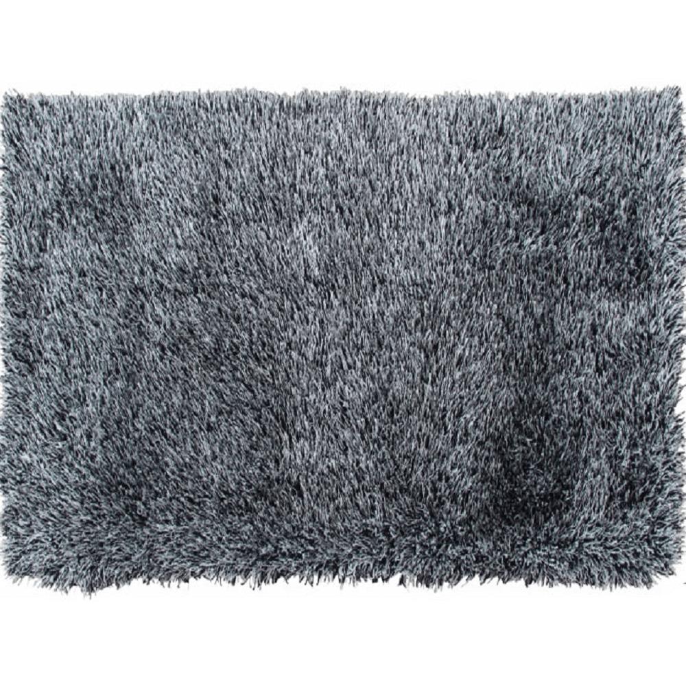 Koberec, bílo-černá, 140x200, Vilan, TEMPO KONDELA