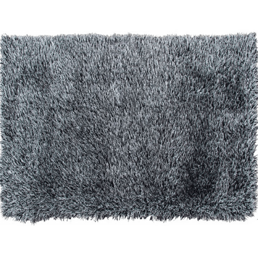 Koberec, bílo-černá, 200x300, Vilan, TEMPO KONDELA