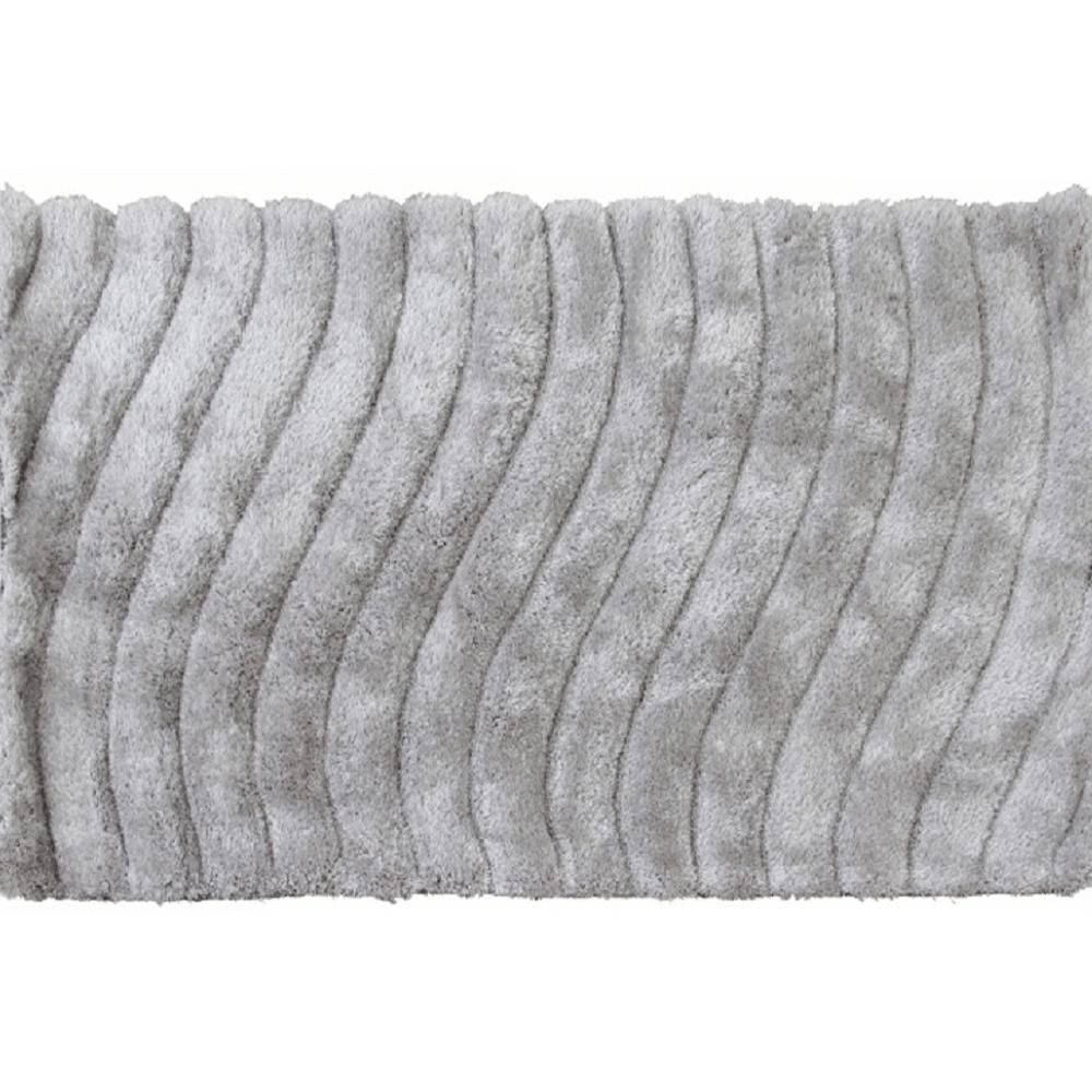 Koberec, bílošedá, 80x150, SELMA