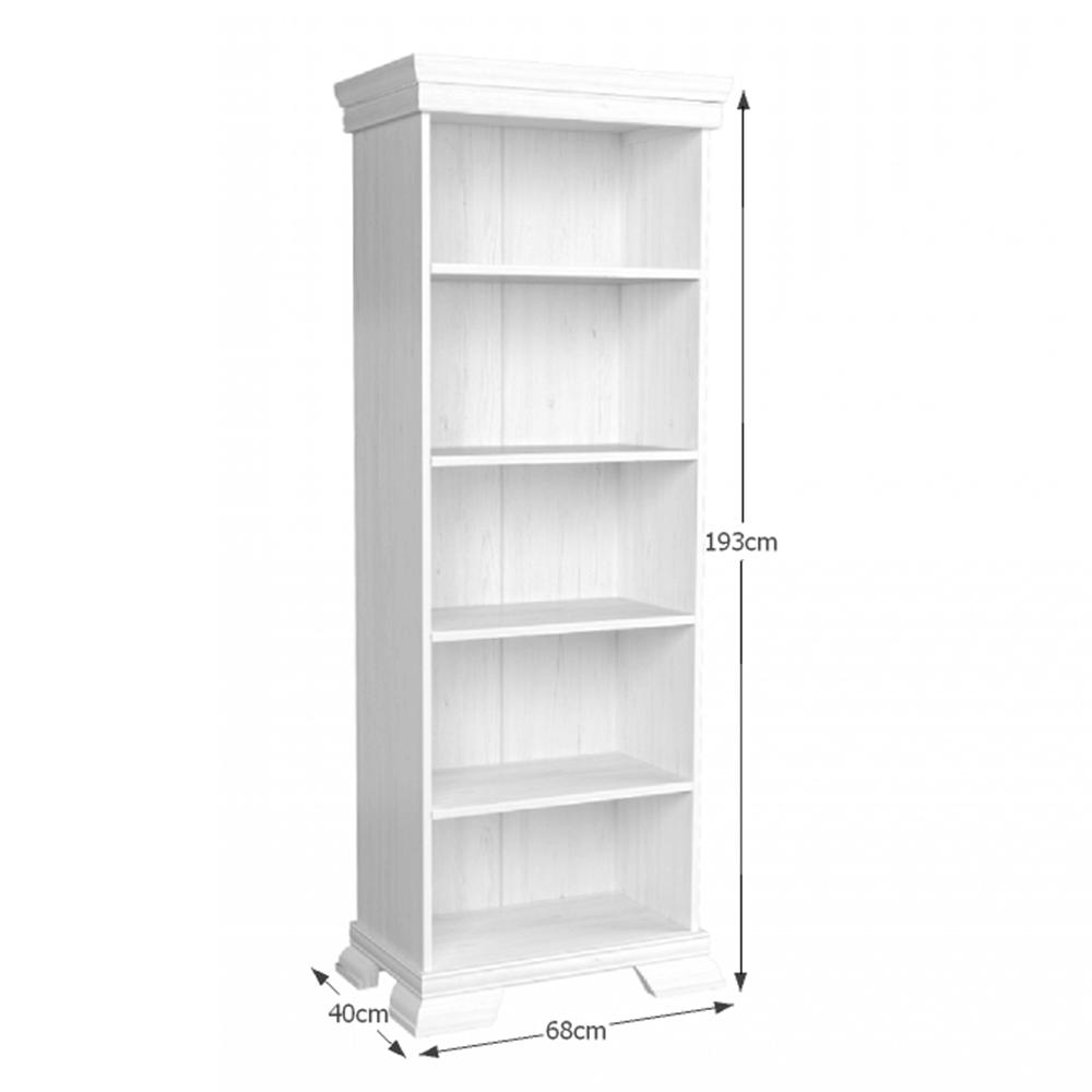 KORA KR1 polcos szekrény, fenyő ANDERSEN