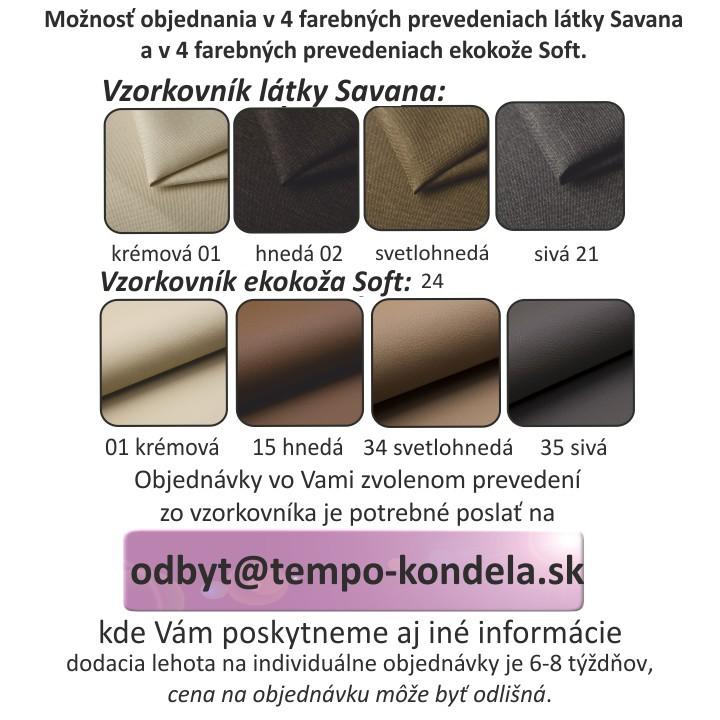 Rohová sedacia súprava, biela/čierna, pravá, MARBELA 2+3