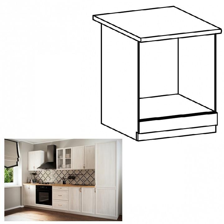 Dolná skrinka na vstavané spotrebiče D60ZK, biela/sosna Andersen, SICILIA