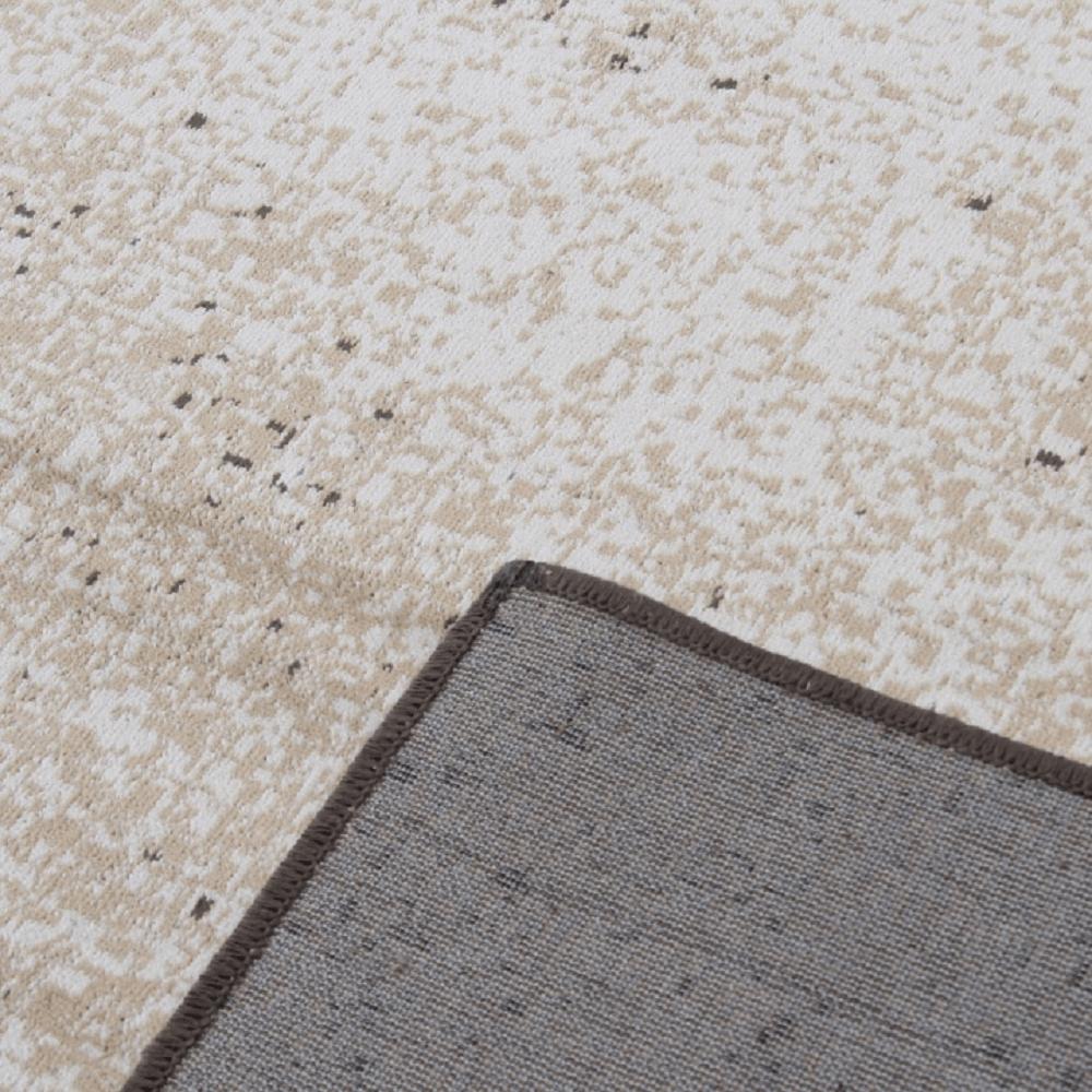 SAURON szőnyeg 67x210 cm, bézs színű márvány mintával
