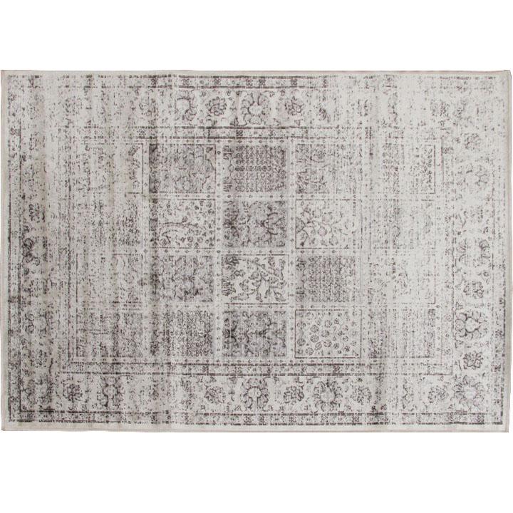 Vintage koberec, sivý, 40x60, ELROND