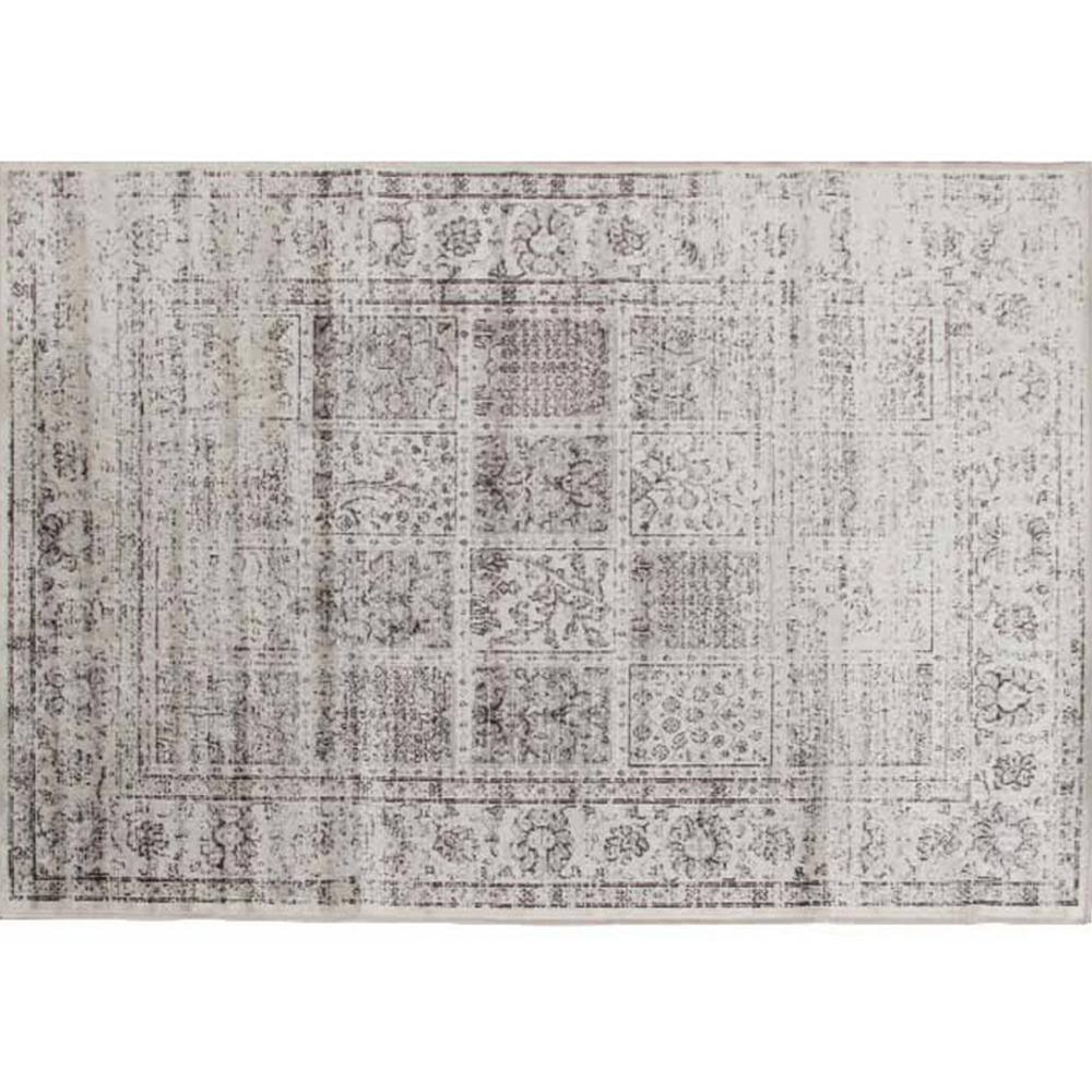 Vintage koberec, šedý,  200x250, Elrond, TEMPO KONDELA