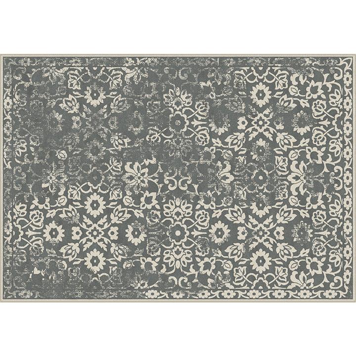 MORIA vintage szőnyeg 67x210 cm, sötétszürke
