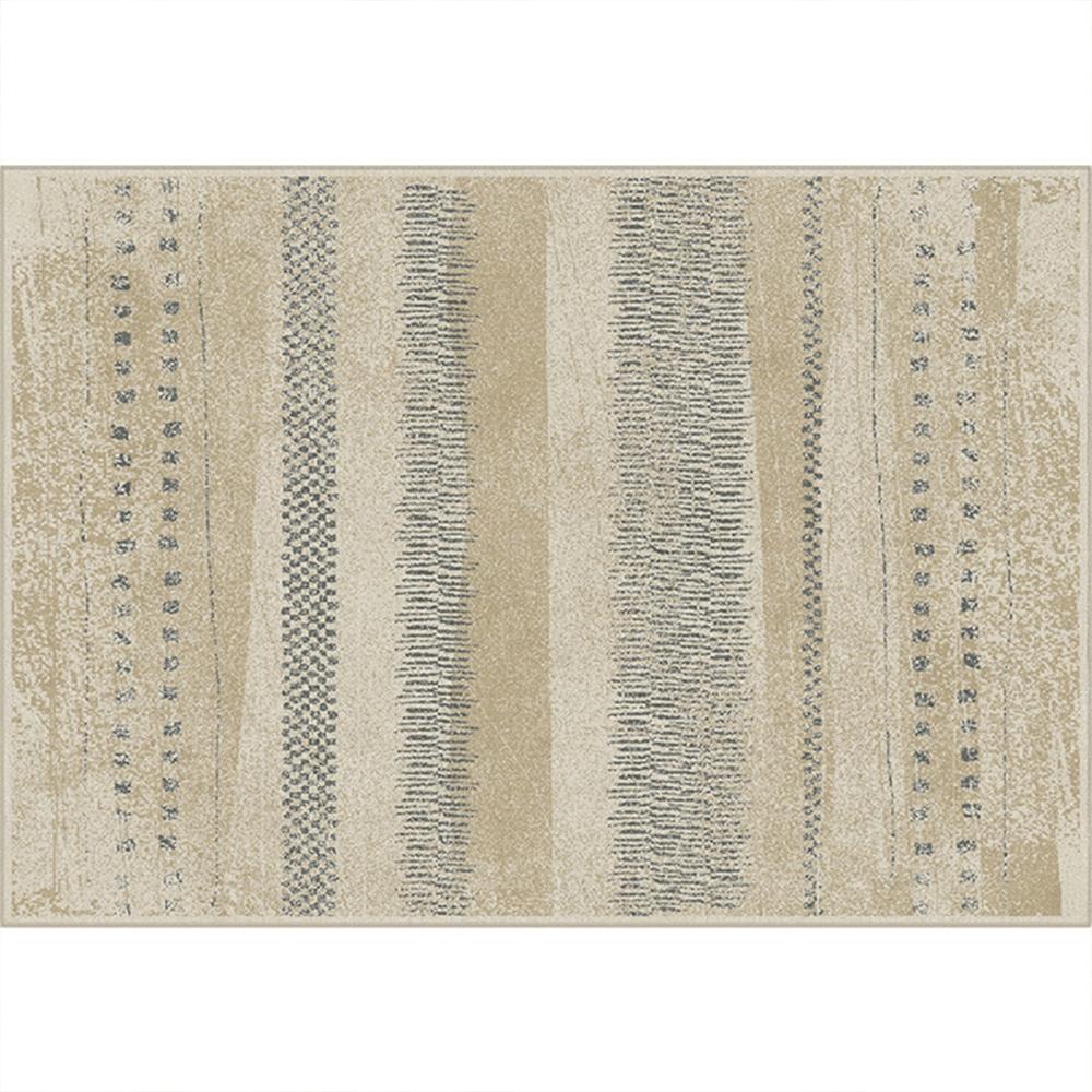 Koberec, béžová / vzor, 200x250, AVALON