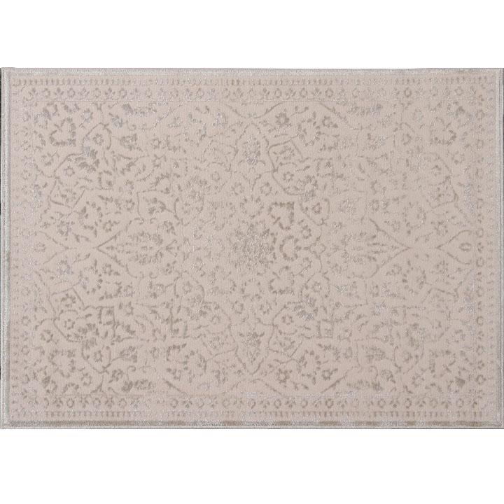 Szőnyeg, bézs, minta, 120x170, ROHAN