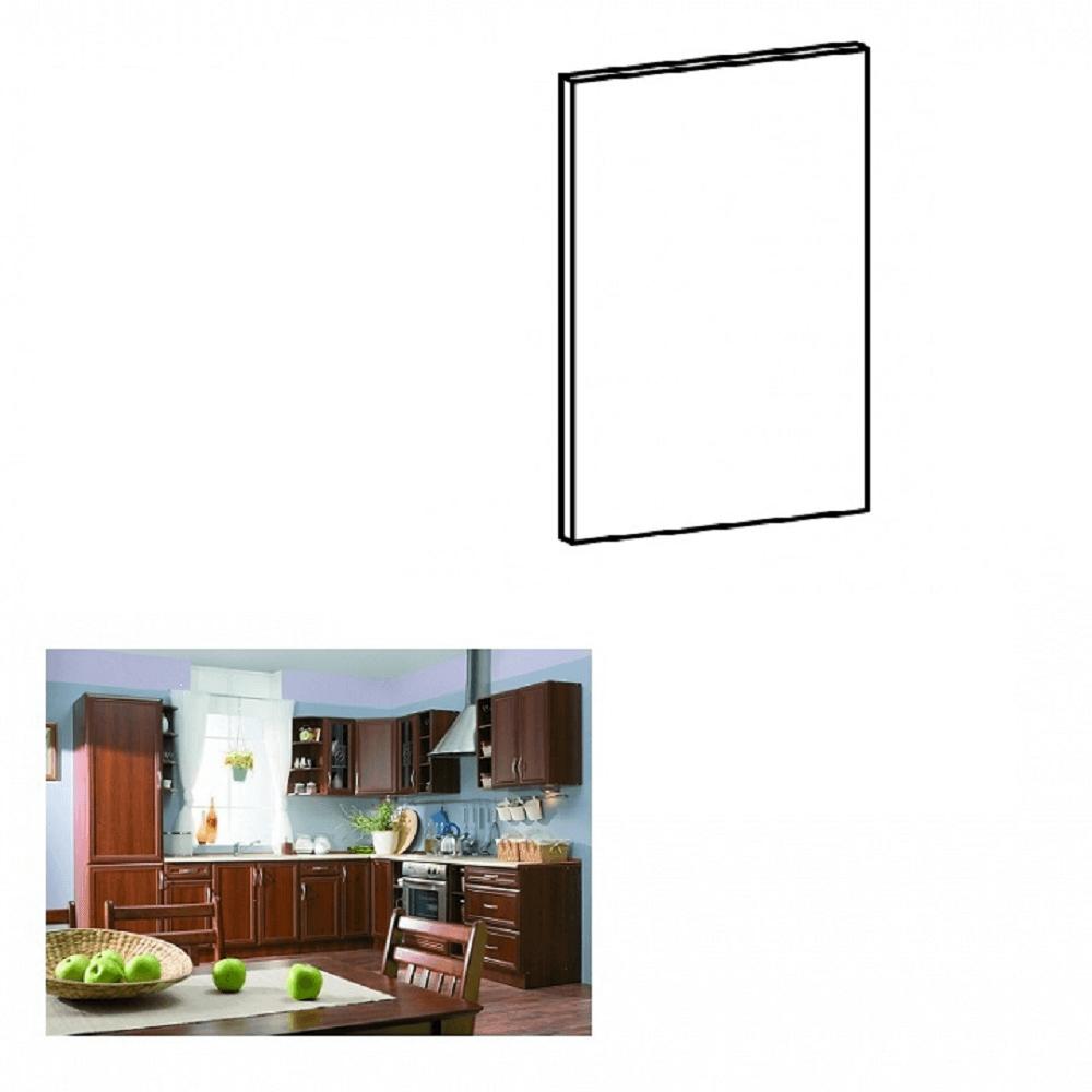 Dvierka na vstavanú umývačku riadu, 44,6x57, orech Milano, SICILIA