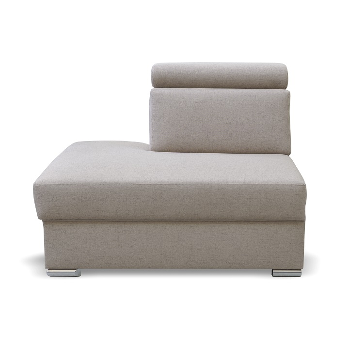 Otoman OTT MINI na objednávku k luxusnej sedacej súprave, béžová, ľavý, MARIETA