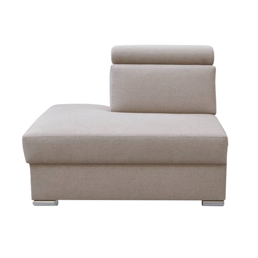 Otoman OTT MINI na objednávku k luxusní sedací soupravě, béžová, levý, MARIETA, TEMPO KONDELA