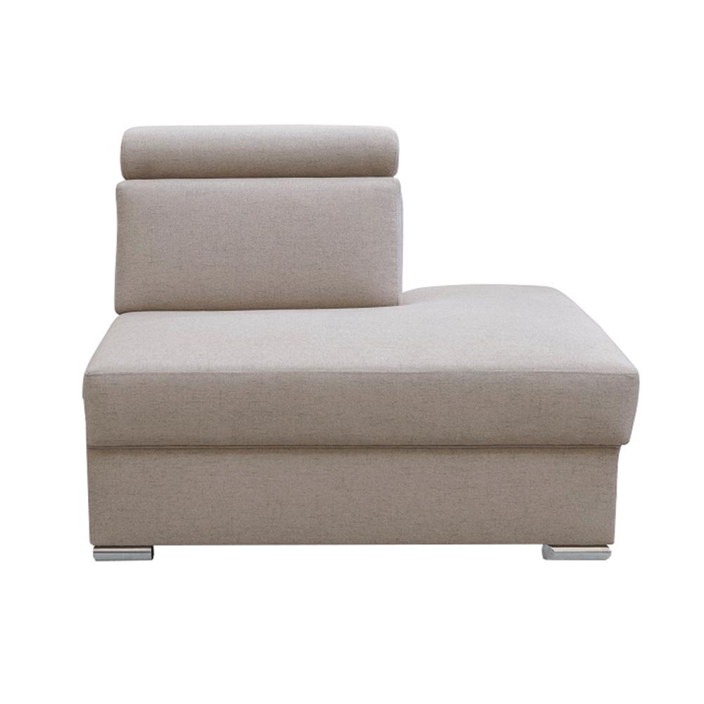 Otoman OTT MINI na objednávku k luxusní sedací soupravě, béžová, pravý, MARIETA, TEMPO KONDELA