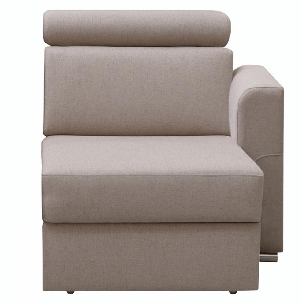 Otoman OTT 1B ZP na objednávku k luxusnej sedacej súprave, béžová, pravý, MARIETA