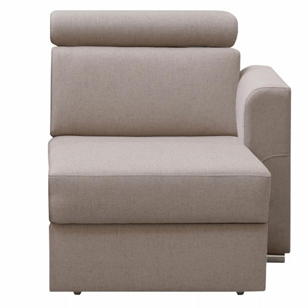 1-sed 1 1B P na objednávku k luxusnej sedacej súprave, béžová, pravý, MARIETA