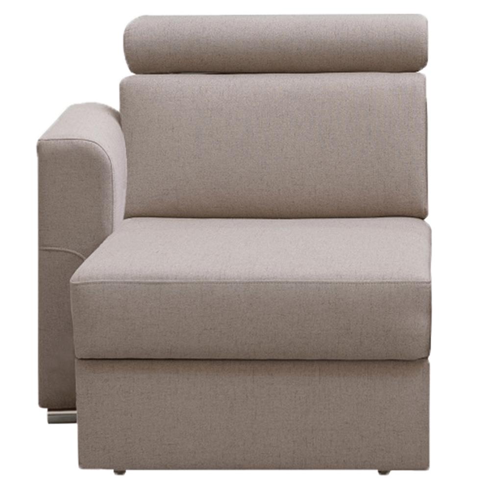 1-sed 1 1B L na objednávku k luxusnej sedacej súprave, béžová, ľavý, MARIETA