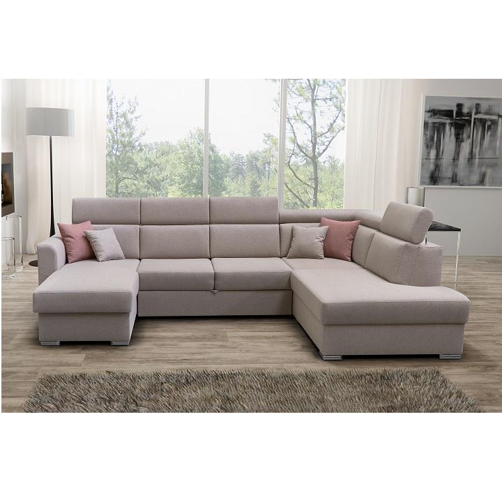 1-személyes kanapé 1 BB rendelésre a luxus ülőgarnitúrához, bézs, MARIETA