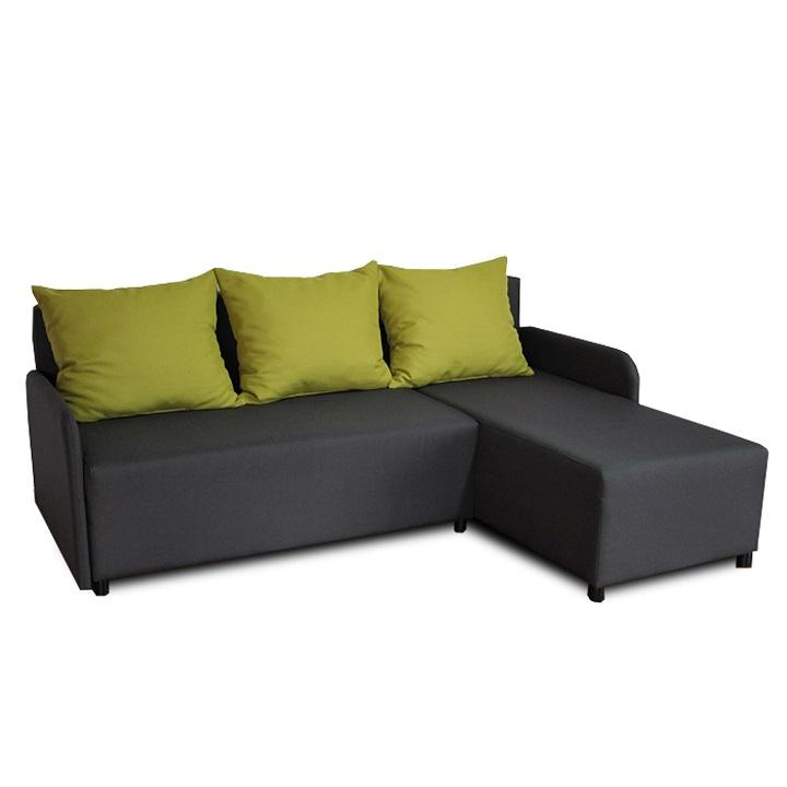 BODRUM sarok ülőgarnitúra jobbos kivitelben ágy funkcióval.