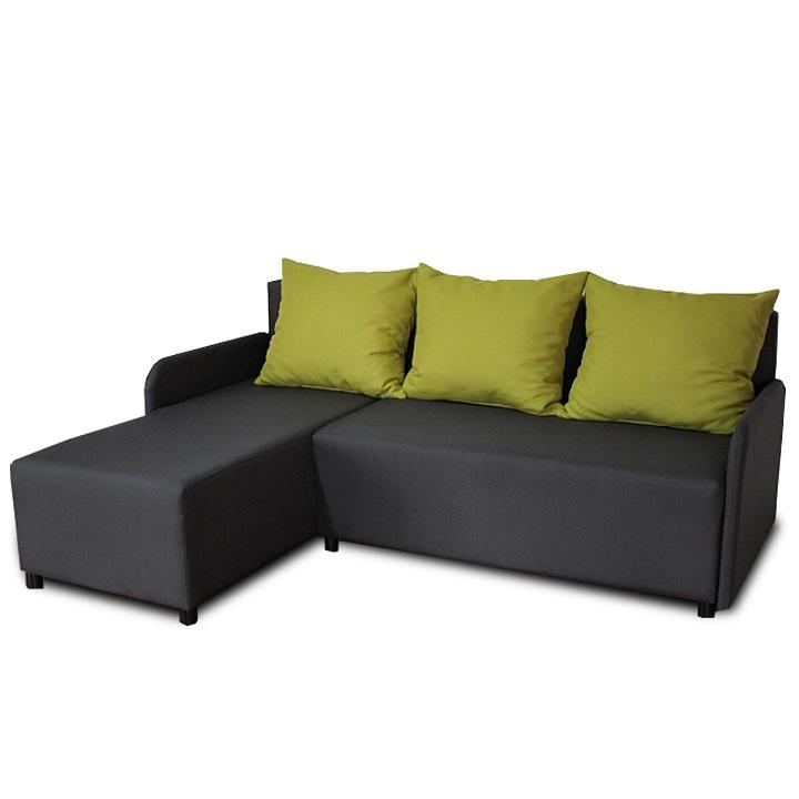 BODRUM sarok ülőgarnitúra balos kivitelben ágy funkcióval.