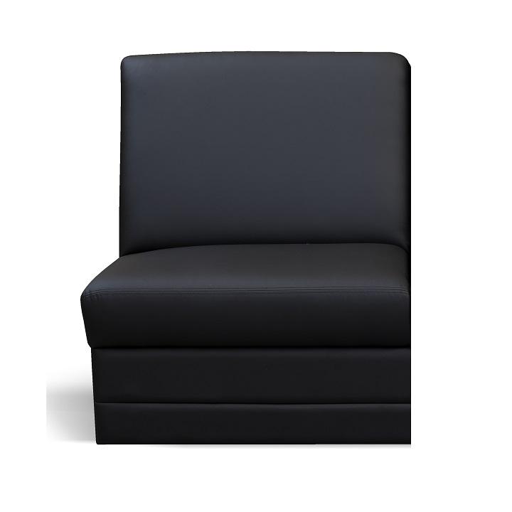 1-es ülés, fekete textilbőr, csak megrendelésre, BITER 1BB