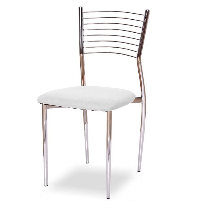 Jedálenská stolička, biela, ZAIRA