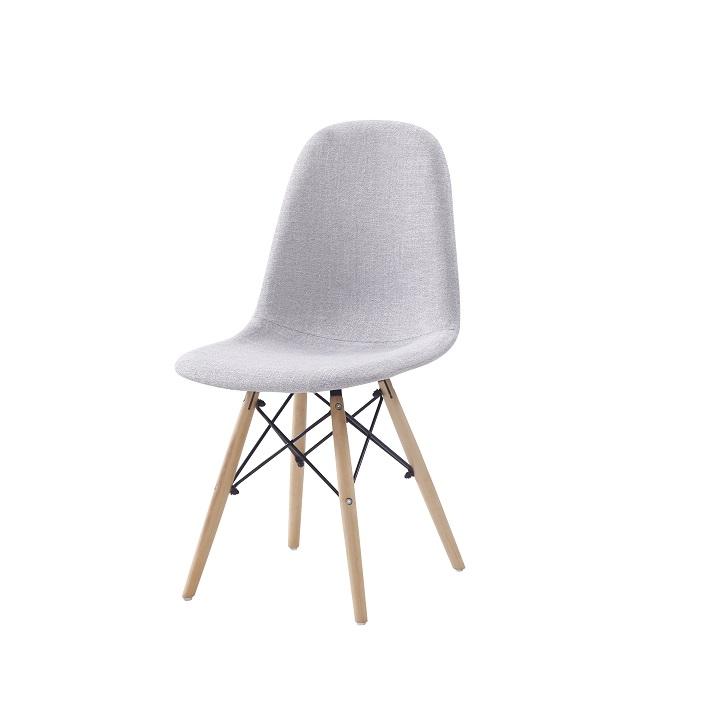 Jedálenská stolička, svetlosivá, DARELA