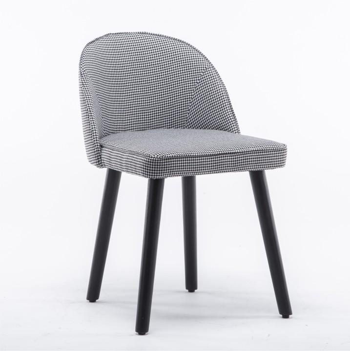 Stolička, čierno-biely vzor, LALIMA