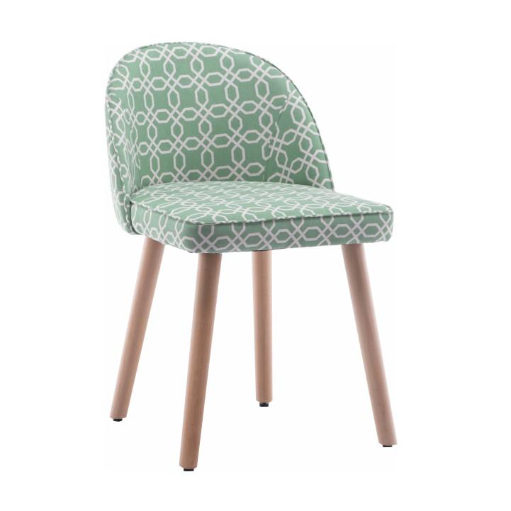 Stolička, zelená vzor, LALIMA