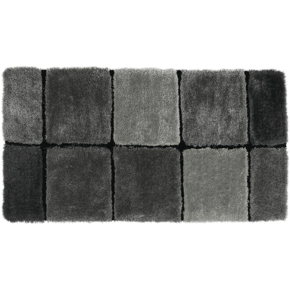 Koberec, sivá, 80x150, LUDVIG TYP 2