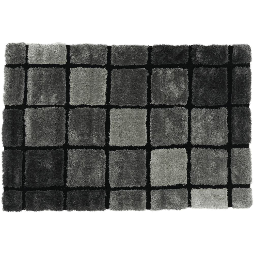Koberec, šedá, 170x240, LUDVIG TYP 2